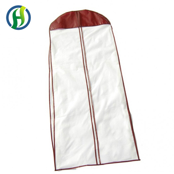2017 Bsci Audited Factory Diffe Size Costume Bag Clothes Covers White Natural Cotton Garment Bags
