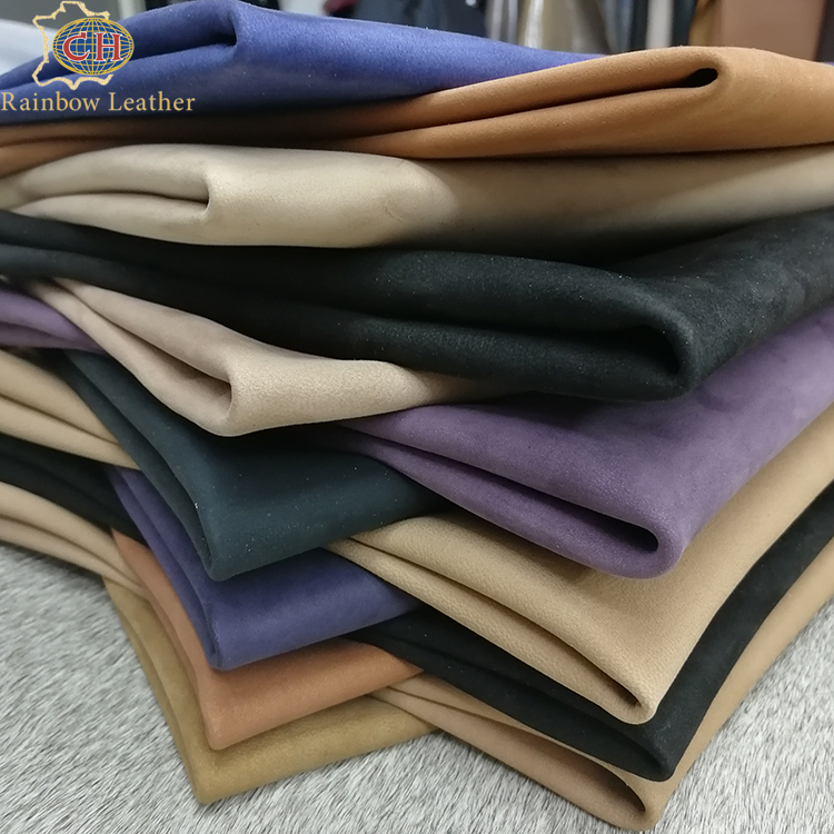 Hot sale !!! 2019 New Products Real Genuine Natural Finished Sheep Nubuck Leather for Shoes Making