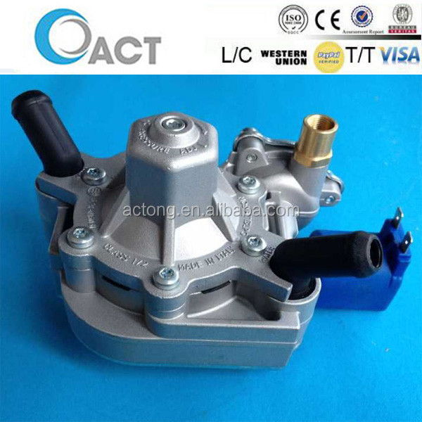 Two Stages ACT13 reducer /Voltage Regulator/LPG vaporizer With Electrovalve
