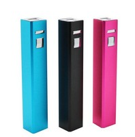 Easy portable power bank pen for lady's present 2600mah beautiful gift power bank item