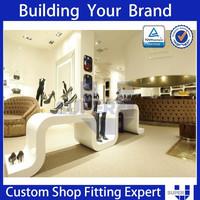 Modern Unique Shoe Mall Kiosk Shoes Store Interior Design Ideas