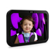 Child Safety Rearview Adjustable back seat car baby mirror for rear view