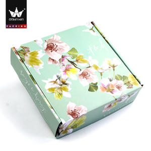 Customized manufacturers corrugated blanket package box