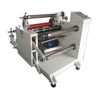 PVC film adhesive tape paper slitting and rewinding machine