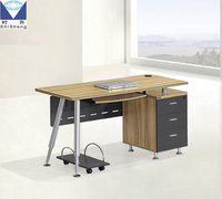 Simple design factory price panel office working table office desk