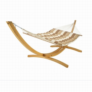 Hot Sale wooden hammock chair stand double adjustable hammock with wood stand outdoor