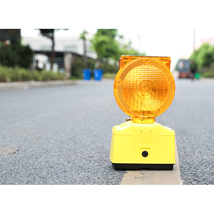 Lente de la Pc 2 PCE 6 V batería amarillo timbre de energía de la batería de la seguridad en carretera, luz de advertencia