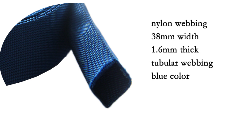 Tubular Nylon Webbing 38mm Wide High Quality Tubu Nylon