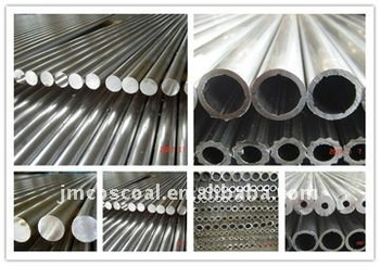 Aluminum alloy pipe with CNC machining and anodizing