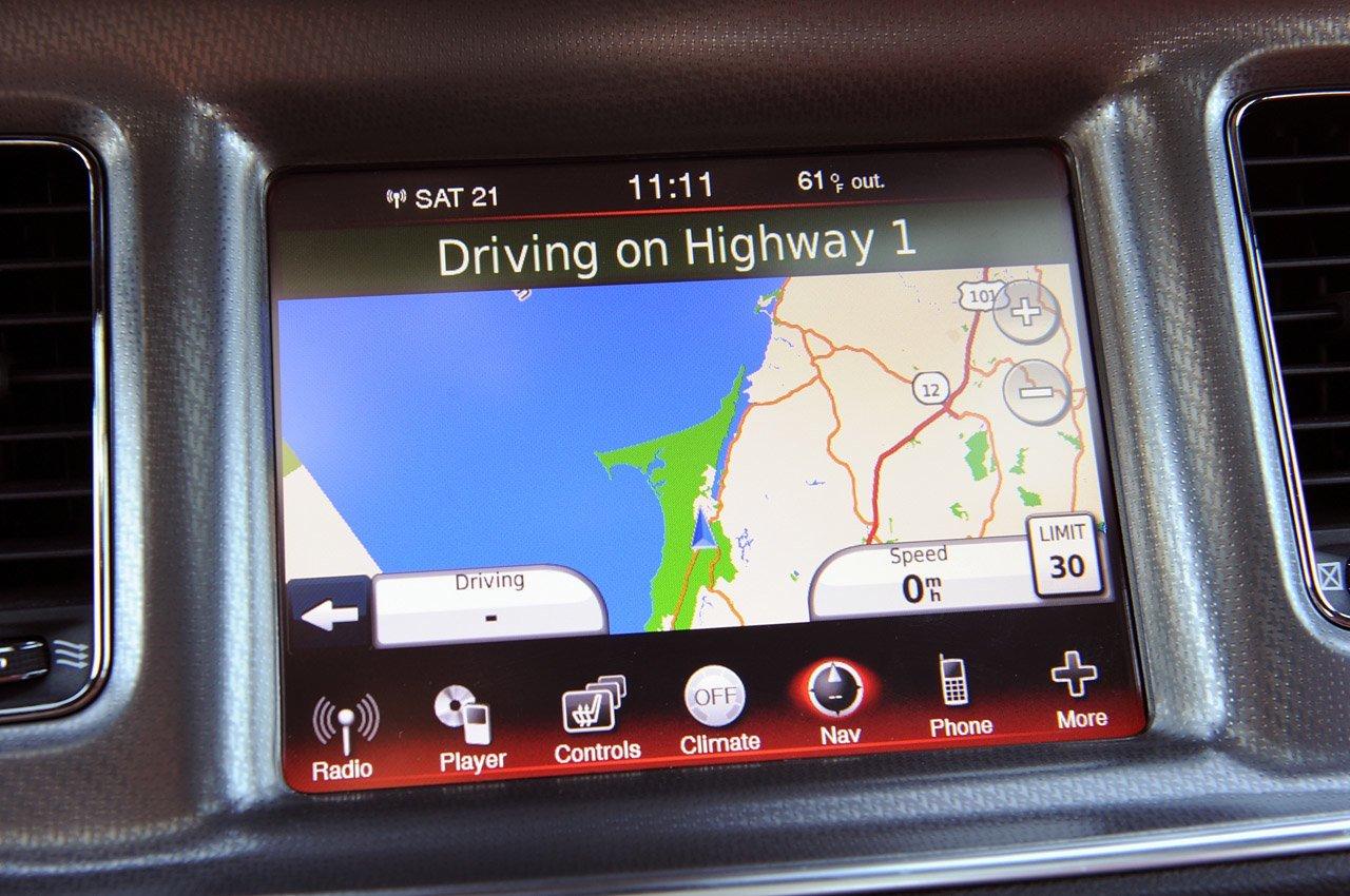 OEM Enhanced Electronics - Factory Integrated Navigation System for select  models of Dodge Charger/Journey