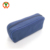 YMB-59 Small Aromatherapy Essential Oil Storage Box Blue Canvas Oil Pouch Essential Oil Bag with Zipper for 10 Bottles