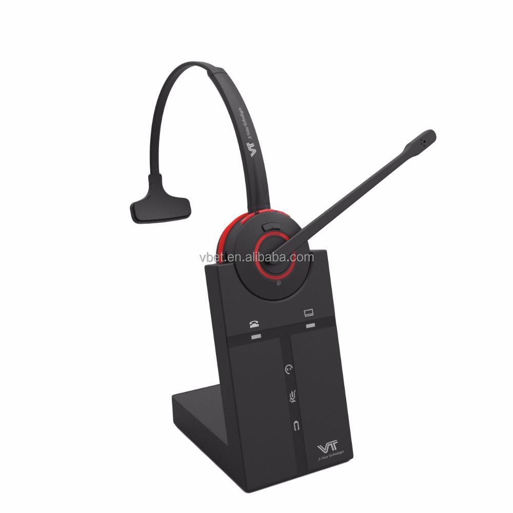 Office Runner Wireless Headset For Deskphone Softphone