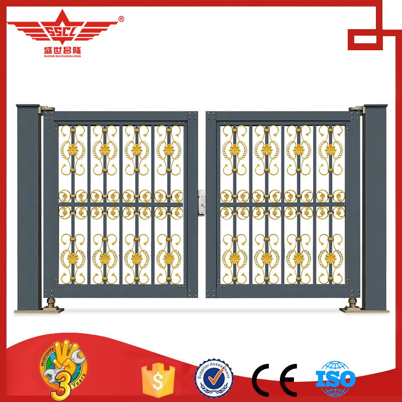 Specialized Aluminum Alloy Swing Gate Designs for Villa- L958C