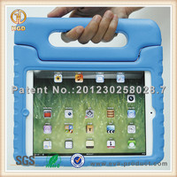 for baby proof ipad mini case thick foam Shock Proof EVA Case Handle Cover