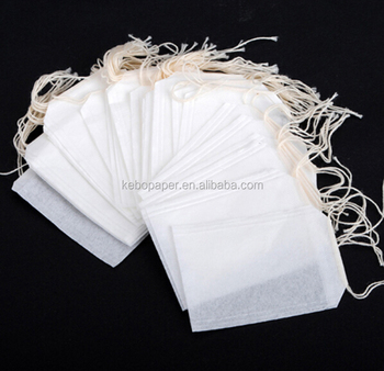 Biodegradable Empty Tea Bags With String Bag
