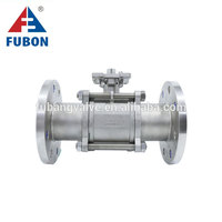 Sanitary Pneumatic 304 Or 316L Stainless Steel Clamp Ball Valve