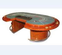 Baccarat table casino table luxury poker table