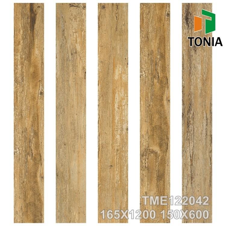 150x600 3 차원 잉크젯 목재 바닥 타일 텍스처 나무 결이있는 ...