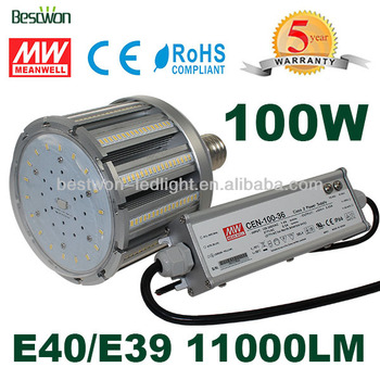 Meanwell External Driver Replace Cfl Hps Smd Corn Led 100w