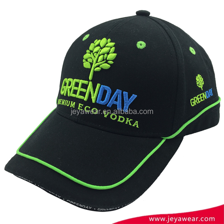 Professional production factory promotion price Flat embroidery baseball baseball cap hatbaseball caps