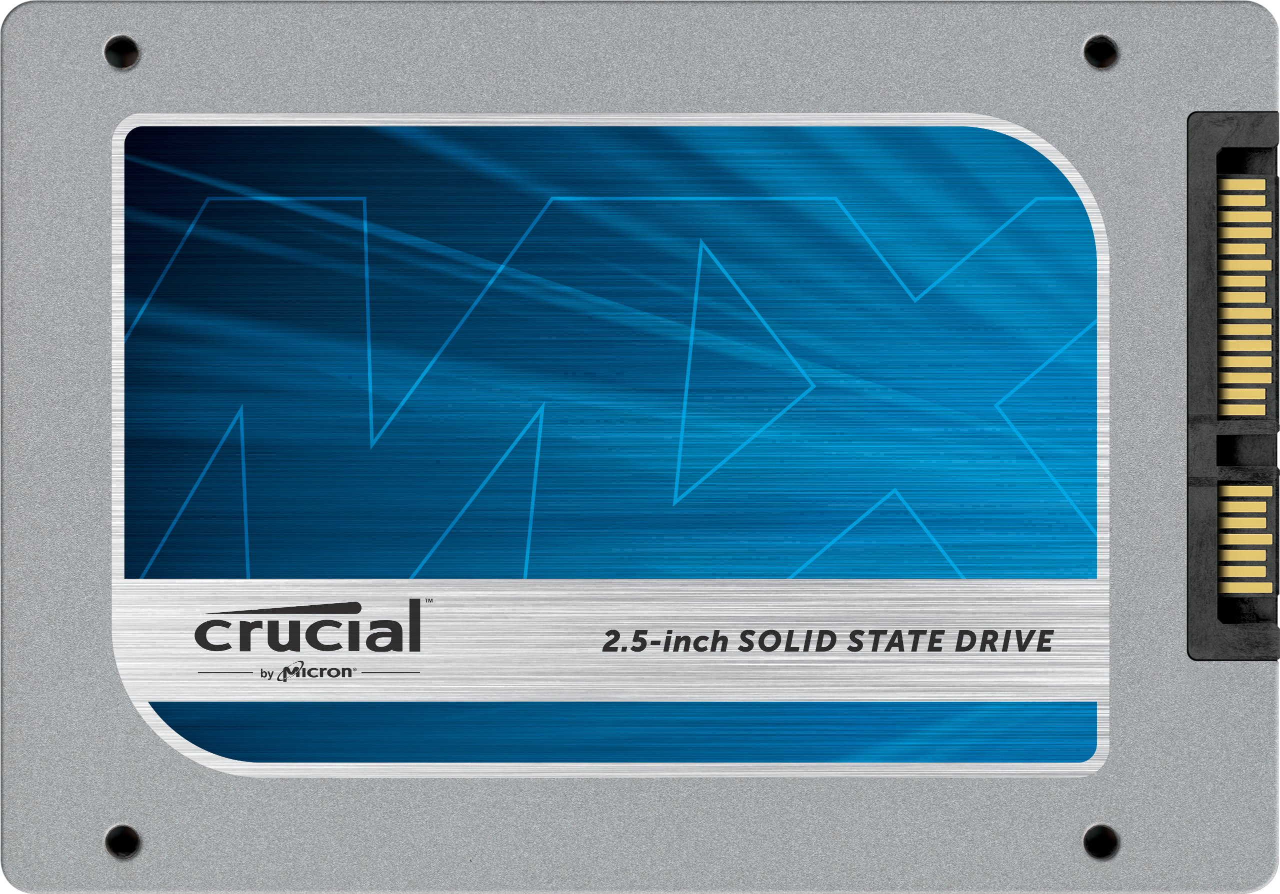 """(OLD MODEL) Crucial MX100 256GB SATA 2.5"""" 7mm (with 9.5mm adapter) Internal Solid State Drive CT256MX100SSD1"""