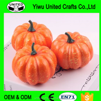 Halloween Fake Pumpkins Artificial Fruits Vegetables Decorative Ornaments 5pcs
