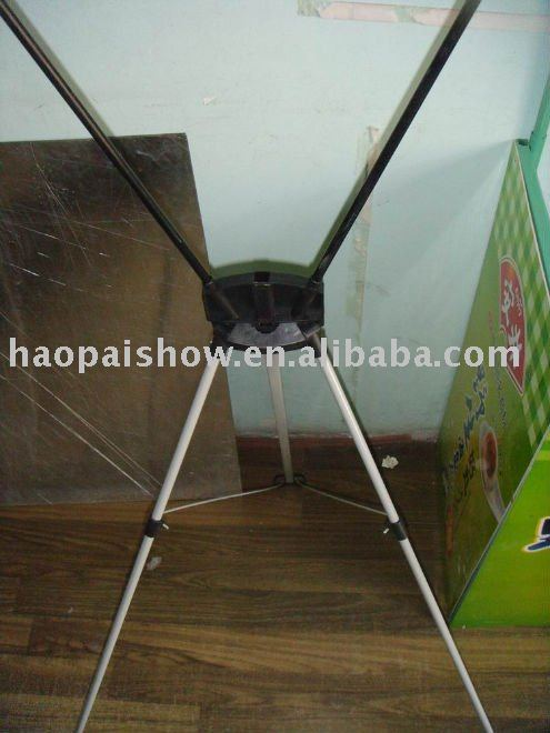 Haopai x display stand, expo display light stand HP-X6-A