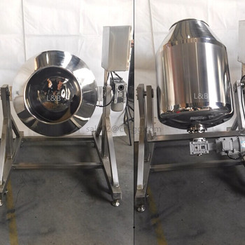high quality 300L customized coffee powder rotary mixer tank/machine