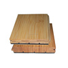 Natural Click Strand Woven Bamboo Flooring For Floating