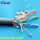 Best price good quality ftp 0.5 solid cat5e network cable