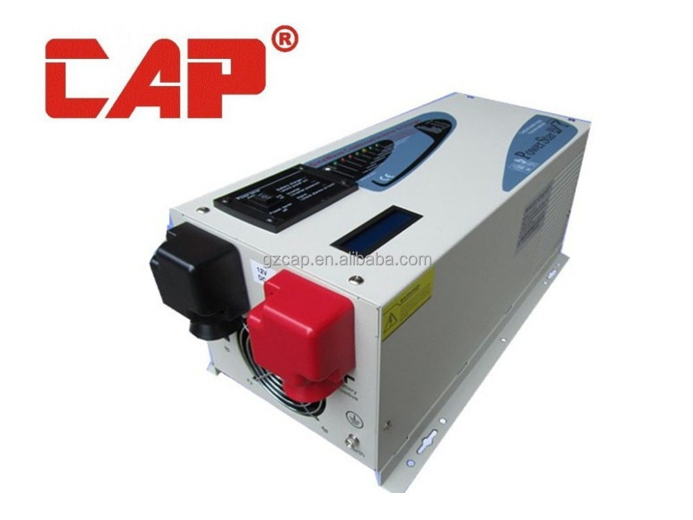 CAP inverter power star w7 for solar panel system, lcd sine wave inverter 220v 110vac 50hz 60hz converter price 1kw-20kw