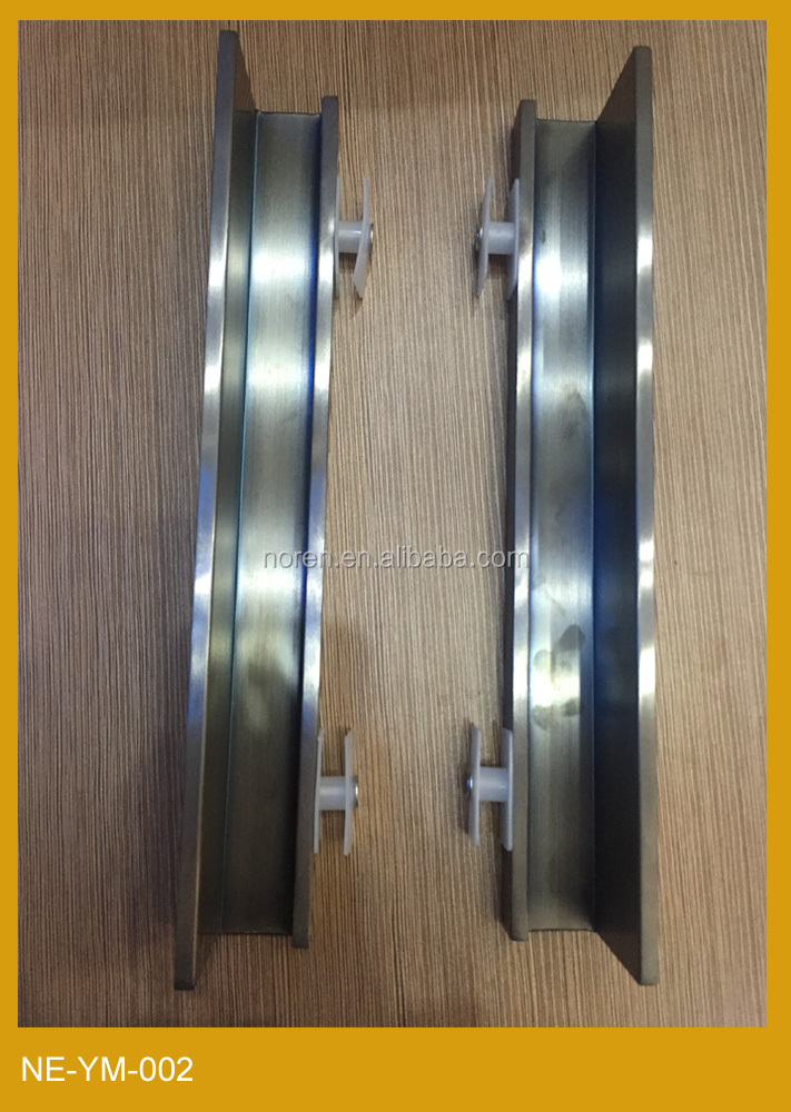 New Black Chrome zinc alloy handle for wooden cabinet