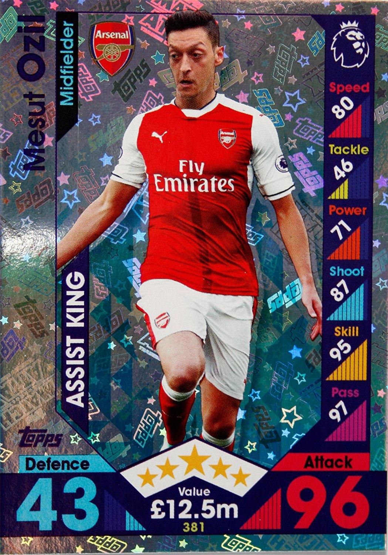 Match ATTAX 2016//17 premier League #381 Mesut Ozil-Assist King