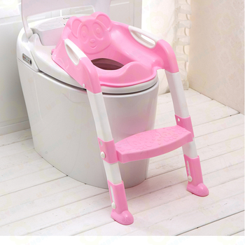 Portable stair child potty colorful training baby toilet seat
