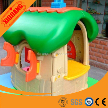 Children Home Backyard Play Toys Mini Attractive Plastic House For Kids