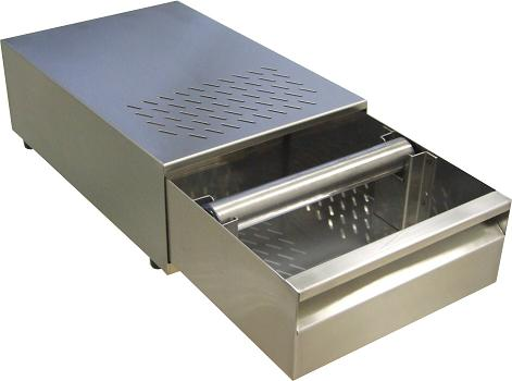 Stainless Steel Espresso Coffee Knock Box With Drawer