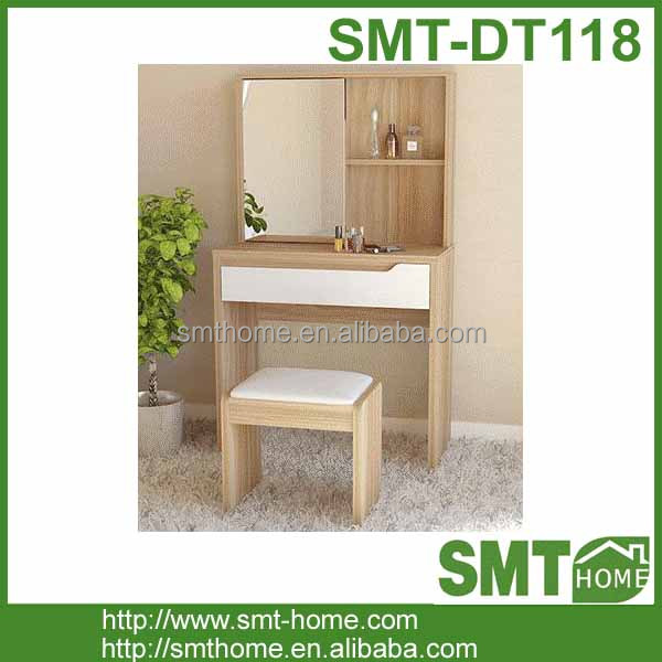 Cheap simple wooden dressing table design
