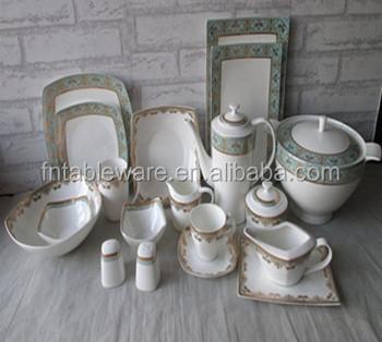 Eco-friendly lead-free fine bone china HP dinner sets GL dinnerware & Eco-friendly Lead-free Fine Bone China Hp Dinner SetsGl Dinnerware ...