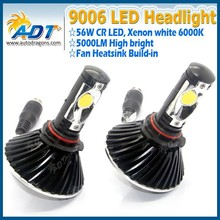 9006 HB4 6000K LED Headlight Conversion Kit High Power LED Bulbs HID Replacement