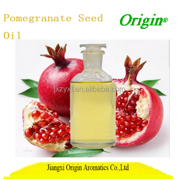 100% pure natural organic anti-aging oil Pomegranate Seed Carrier Oil in hair treatment