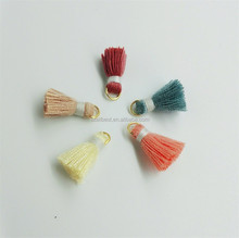 Professional supplier wholesale cheap material cotton tassel
