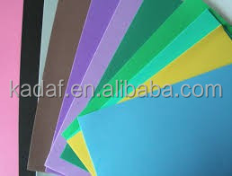 EVA foam paper any size any color is available own factory