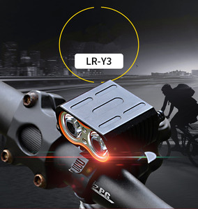 LED USB Cycling Bike Light waterproof T6 Headlamps bicycle lights