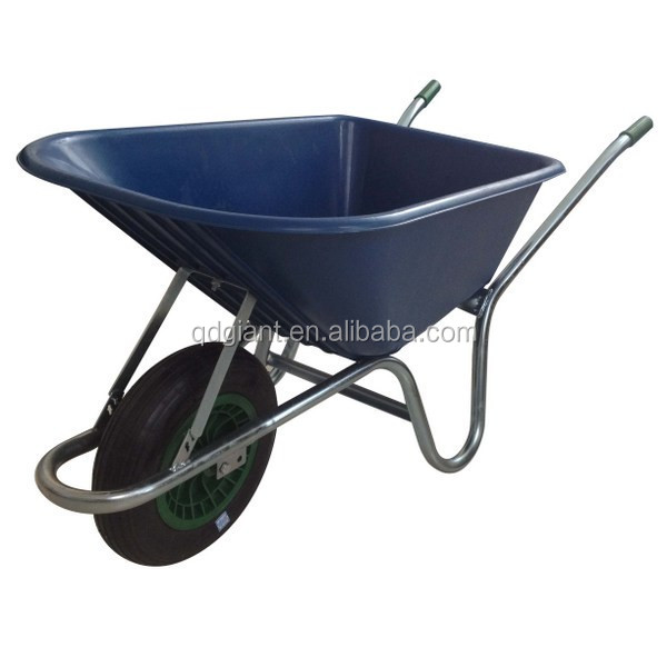 2017 Hot Selling Garden tools Power Plastic Wheelbarrow WB6424S