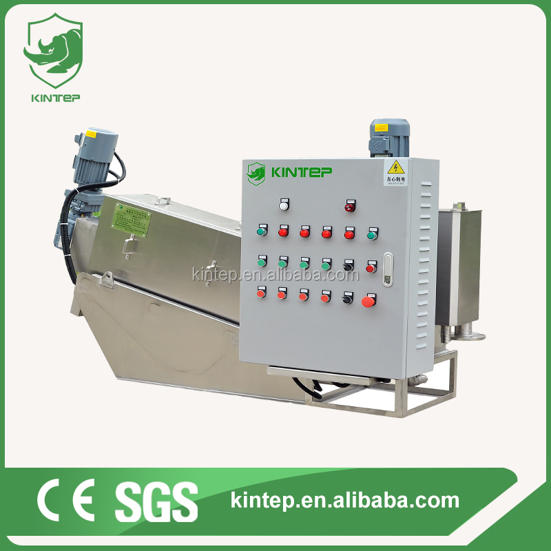 wastewater equipment sludge dewatering for sewage treatment