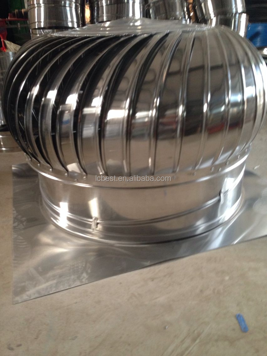 Stainless Steel Turbine Ventilator Industrial Roof Exhaust Fan For ... for Industrial Roof Exhaust Fan  565ane