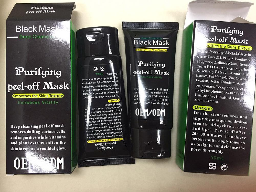 Black Head Mask Or Blackhead Remover With Oem Purifying Peel Off ...