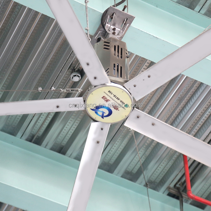 China 5-blade Hvls Industrial Large Ceiling Fan Prices
