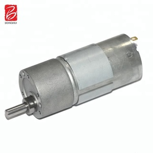 12v 24v 20w dc spg metal gear motor for open door lock