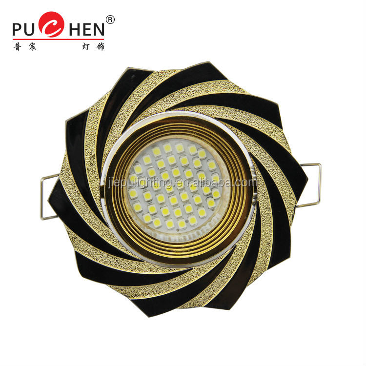 Indoor low price Zinc alloy High Quality patch Ceiling halogen LED light can hold different light sources 3w 220v Model XS110